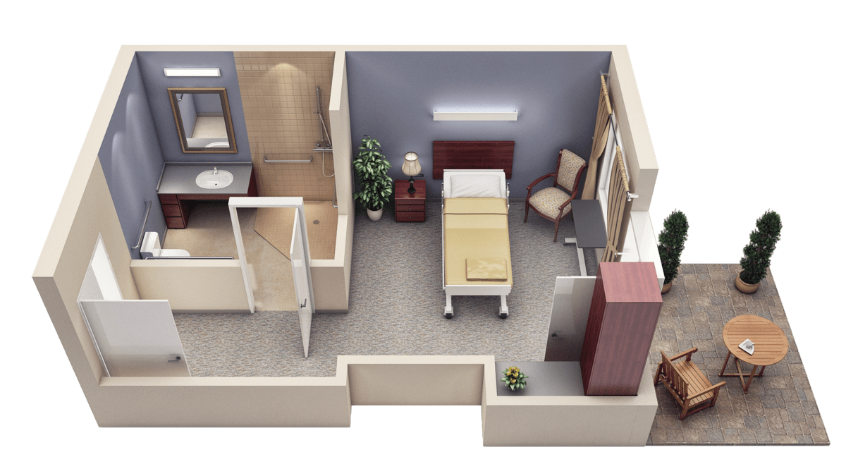 long term care room